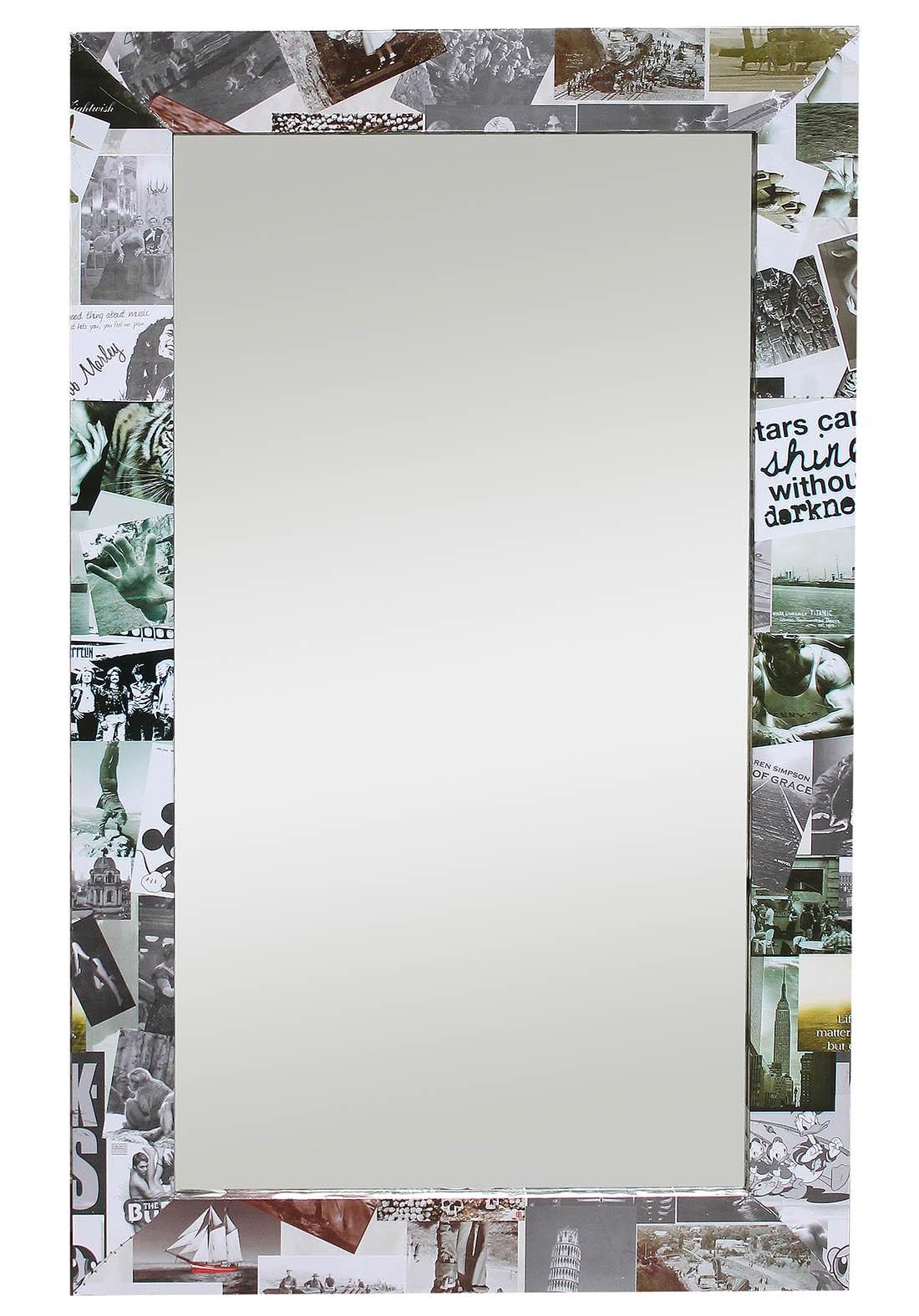 Photo Collage Frame Mirror Flat Frame Mirrors Home