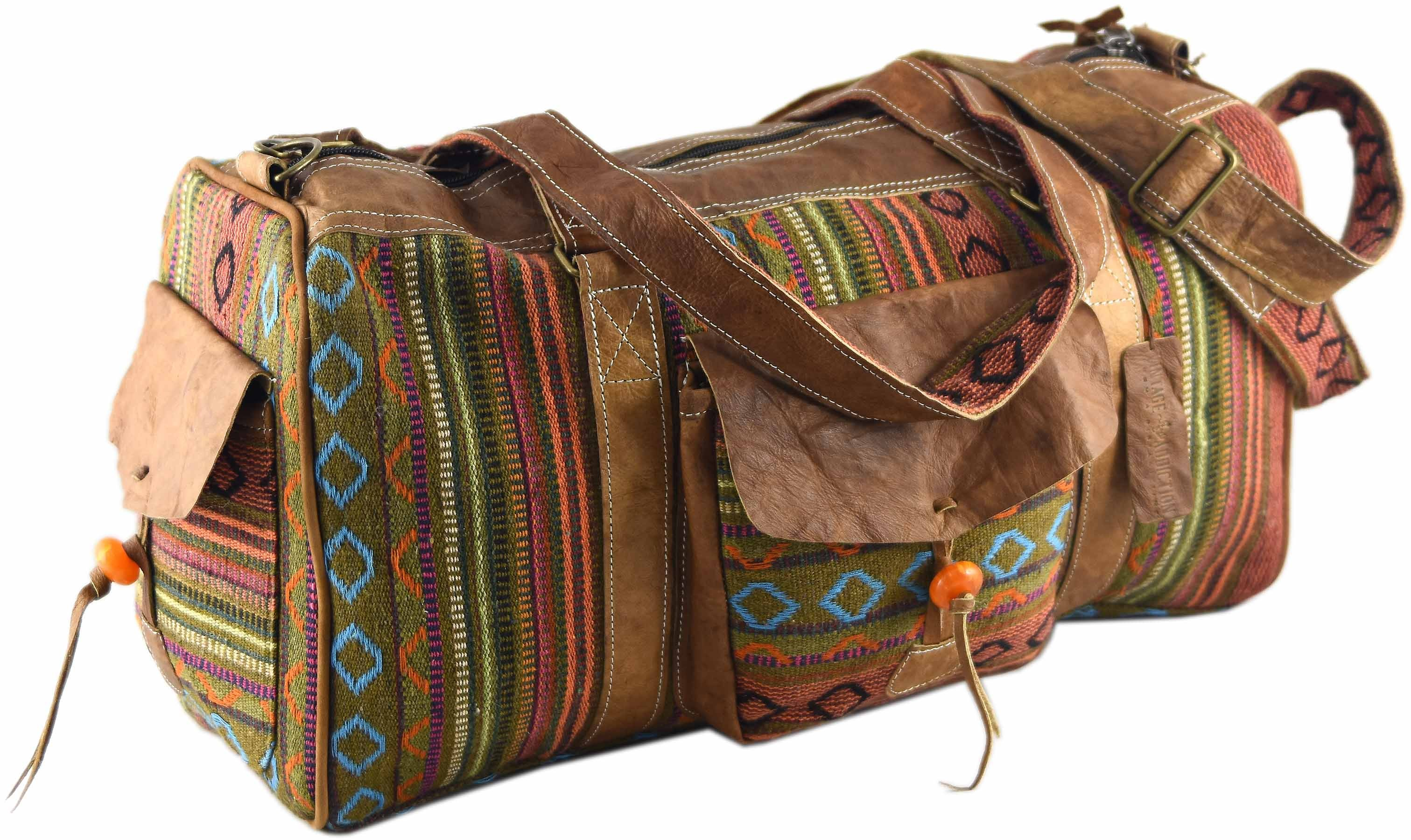 Wanderlust Terracotta Weekender Travel Bag Bags