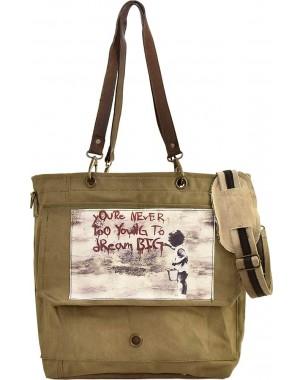 Never Too Young Crossbody/Messenger Bag