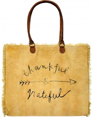 Thankful and Grateful Market Tote