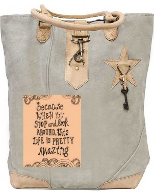 Life Is Pretty Amazing Canvas Tote