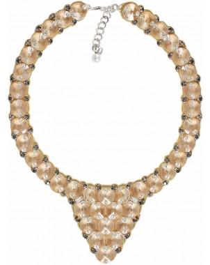 Vintage Crystal Pizzazz Bib Necklace