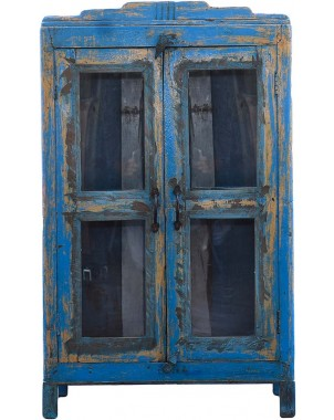 Island Blue Cabinet