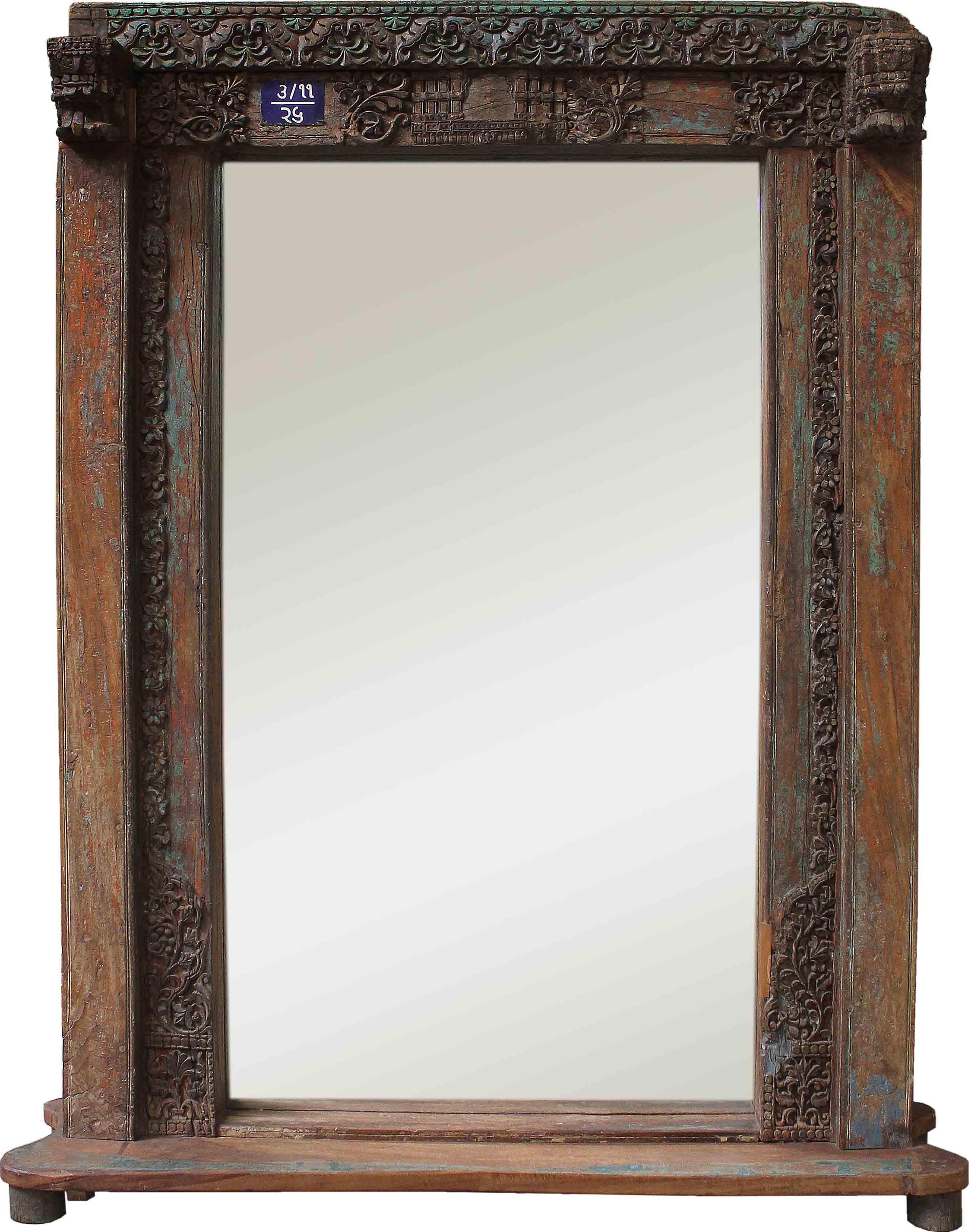 Vintage mansion 3 99 door mirror mirrors home furnishings for Large door mirror