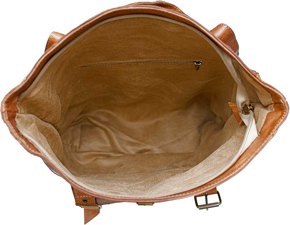 Medina Caramel Leather Backpack Leather Bags Amp Accessories