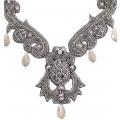 Fantasy in Gray Necklace