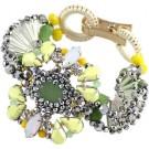 Kaleidoscope in Yellow Bracelet