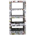 Photo Collage 4-Shelves Bookshelf
