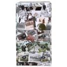 Photo Collage 3-Drawer/Top Door Storage Chest