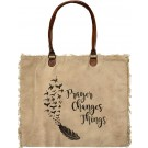 Prayer Changes Things Market Tote