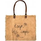 Keep Life Simple Market Tote