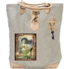 Live In The Sunshine Mermaid Canvas Tote