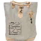 Virtues Canvas Tote
