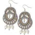 Keepsake 3-Pearl Drop Earrings