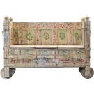 Memory Lane Hand-painted Wooden Sofa