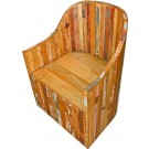 Round-back Wood Chair