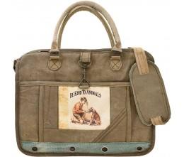 Be Kind To Animals J1 Laptop/Messenger Bag