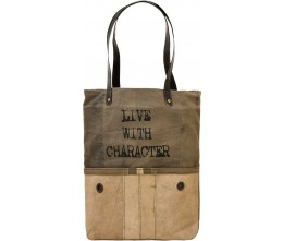 Live With Character Rectangular Tote