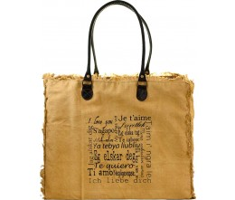 I Love You Market Tote