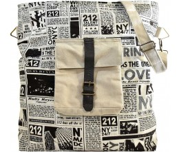 Ruby Reyes Recycled Canvas Crossbody