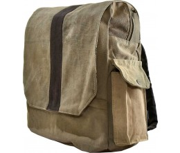 Recycled Military Tent Backpack