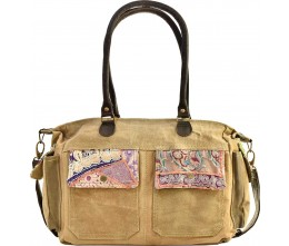 Recycled Military Tent Shoulder Bag