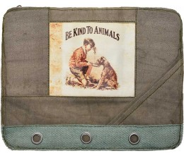 Be Kind To Animals F1 Laptop Sleeve