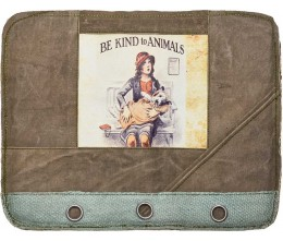 Be Kind To Animals F2 Laptop Sleeve