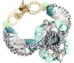 Kaleidoscope in Green Bracelet