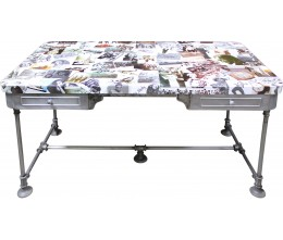 Photo Collage Large Desk/Table