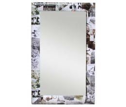 Photo Collage Frame Mirror (Rounded Frame)