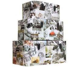 Photo Collage Set of 3 Storage Boxes