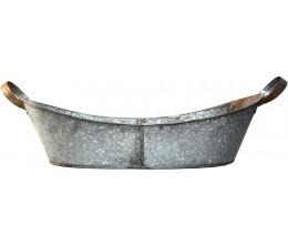 Metal Tub with Handles