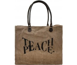 Teach Peace Market Tote