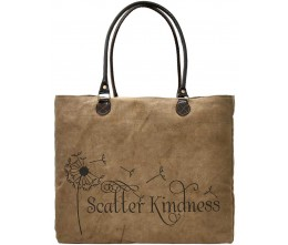 Scatter Kindness Recycled Military Tents Market Tote