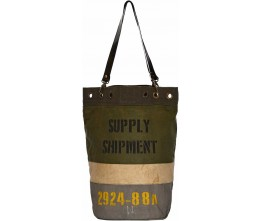 Supply Shipment Bucket-Style Tote