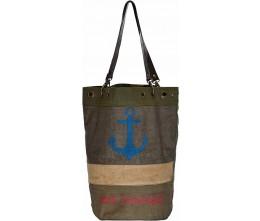 USA Vintage Bucket-Style Tote