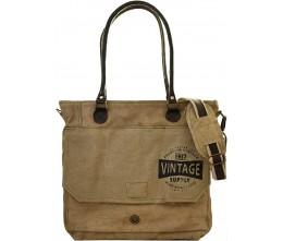 Vintage Supply Tote/Messenger Bag