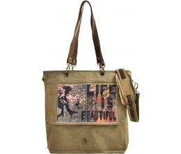 Life Is Beautiful Color Crossbody/Messenger Bag