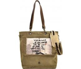 Power Of Love Crossbody/Messenger Bag