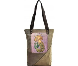 Heart Canvas Tote