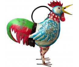 Color Rooster Watering Can