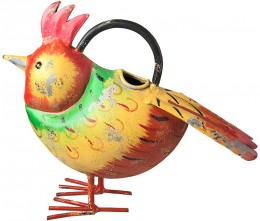 Red Crest Bird Watering Can