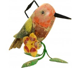 Hummingbird Iron Watering Can
