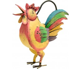Rooster Iron Watering Can