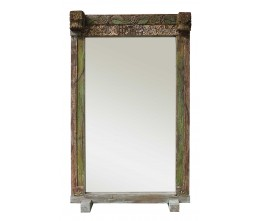 Lime Green Vintage Floor Mirror
