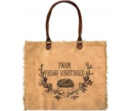 Farm Fresh Vegetables Market Tote