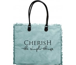 Cherish Simple Things Market Tote