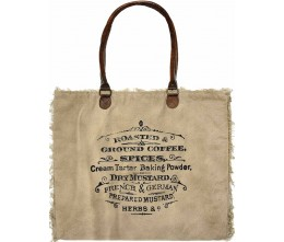 Coffee & Spices Market Tote