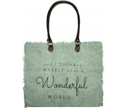 And I Think To Myself Market Tote